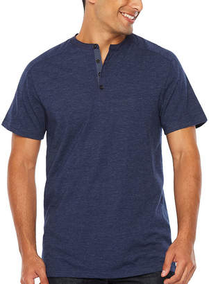 SOCIETY OF THREADS Society Of Threads Short Sleeve Henley Shirt-Big and Tall
