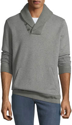 Ralph Lauren Men's Fleece Hybrid Shawl-Collar Sweater