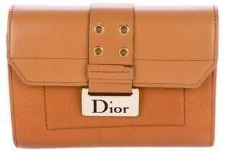 Christian Dior Leather Logo Wallet w/ Card Slide