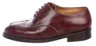 John Lobb Leather Derby Shoes
