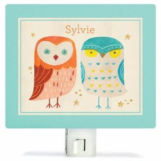 Oopsy Daisy Fine Art For Kids Two Wise Owls Night Light