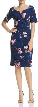 Adrianna Papell Vintage-Floral Dress