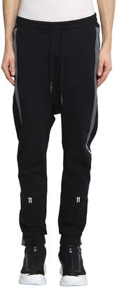 11 By Boris Bidjan Saberi Cotton Blend Taped Track Pants
