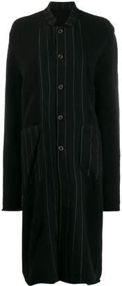 UMA WANG collared long-length cardigan