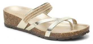 Italian Shoemakers Hilary Wedge Sandal $59 thestylecure.com