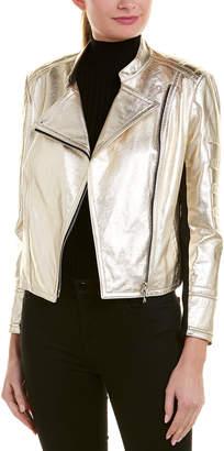 Yigal Azrouel Metallic Leather Jacket