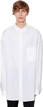Juun.J Cotton Poplin Shirt W/ Double Back