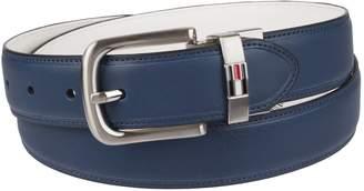 Tommy Hilfiger Men's Reversible Belt, /navy