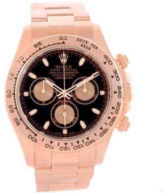 Rolex Daytona 116505 Cosmograph 18K Rose Gold Chronograph Watch $26,990 thestylecure.com