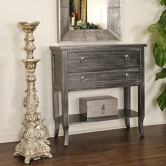 Heather Ann Heirloom Black 2 Drawer Accent Chest