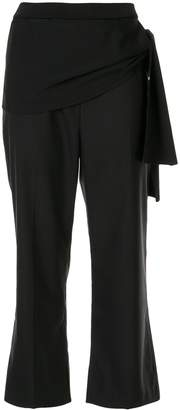 3.1 Phillip Lim side tie cropped trousers