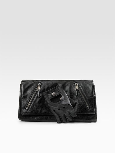 Alexander McQueen Faithful Leather Glove Clutch