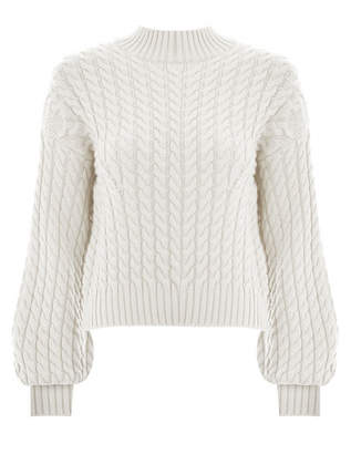 Zimmermann Tempest Cable Merino Sweater