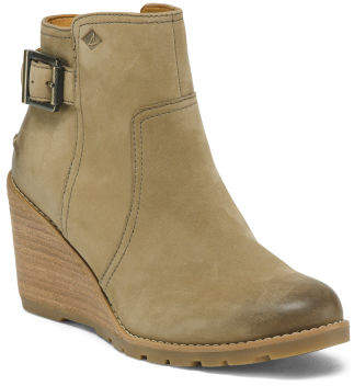Leather Comfort Ankle Booties