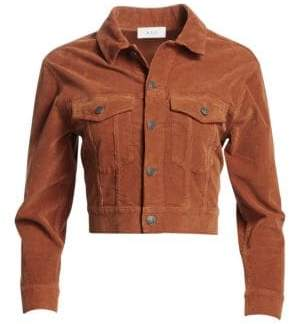 A.L.C. Deren Cropped Corduroy Jacket