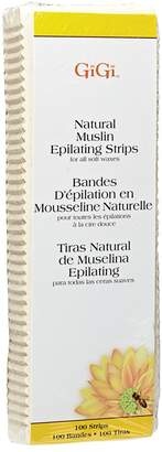 GiGi Natural Large Muslin Epilating Strips