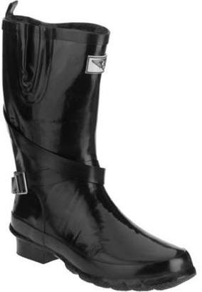 FOREVER YOUNG Forever Young Women's Short Strapped with Buckle Rain Boot