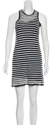 Diane von Furstenberg Stripe Mini Dress