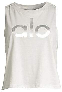 Alo Yoga Women's Signature Logo Tank