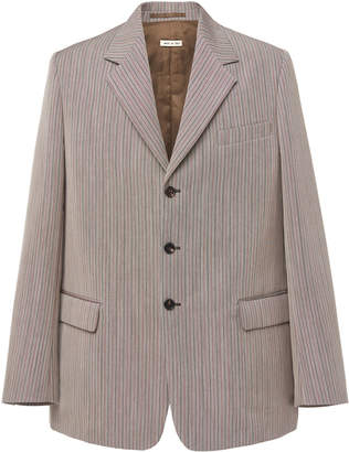 Marni Oversized Three Button Blazer