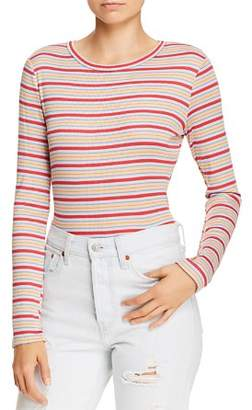 Sadie & Sage Striped Long-Sleeve Tee