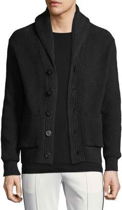 Vince Shawl-Collar Cotton Cardigan