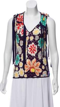 Missoni x Wolford Floral Print Sleeveless Top