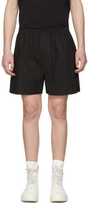 Rick Owens Black Boxer Shorts