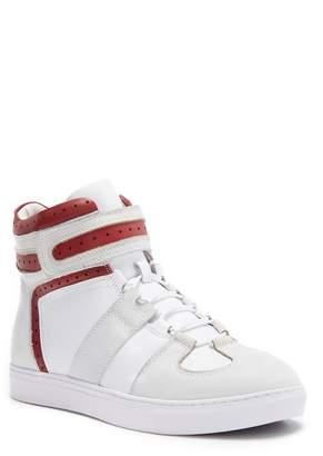 Badgley Mischka Belmondo Leather & Suede High-Top Sneaker