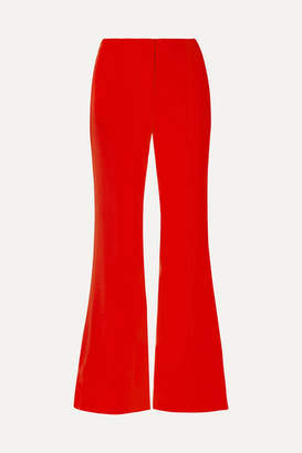 Diane von Furstenberg Stretch-crepe Flared Pants
