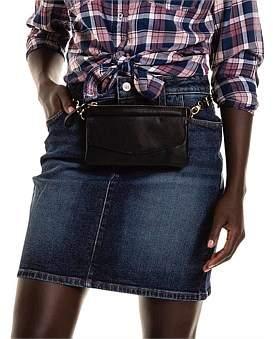 R & E RE: Stretch Denim Skirt