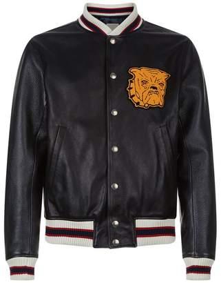 Sandro Bulldog Varsity Jacket