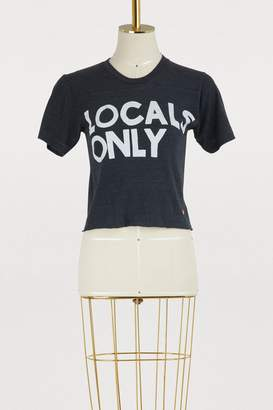 Aviator Nation Locals only boyfriend T-shirt