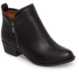 Lucky Brand Bartalino Zipper Edged Bootie