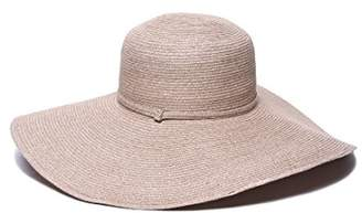 Physician Endorsed Women's Sophia Toyo Braid Lg Brim Floppy Sun Hat