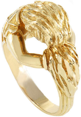 David Webb Heritage  18K Yellow Gold Ring