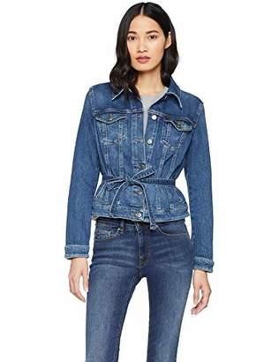 BOSS Women's J90 Ohio Denim Jacket, (Medium Blue 420), Small