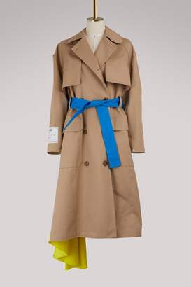 MSGM Belted trench coat