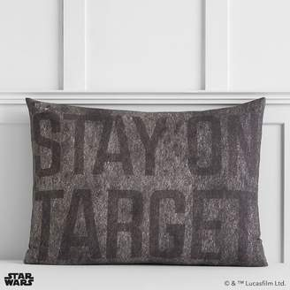 Pottery Barn Teen Star Wars Space Chase Sham, Standard, Charcoal