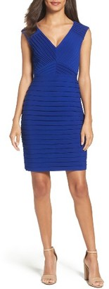 Women's Adrianna Papell Pleated Sheath Dress $160 thestylecure.com