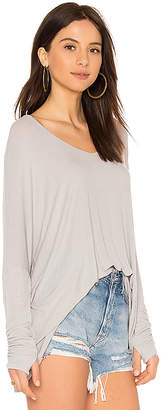 Michael Lauren Sherman Long Sleeve Top