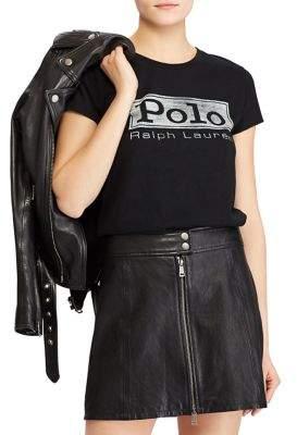 Polo Ralph Lauren Logo Graphic Cotton Jersey Tee