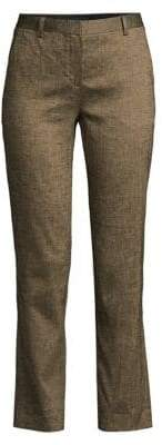 Theory Tailored Silk Blend Trousers