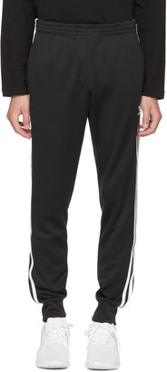 adidas Originals Black Superstar Track Pants $65 thestylecure.com