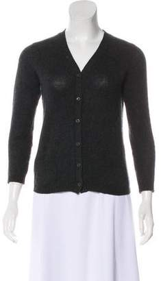Prada Cashmere Long Sleeve Cardigan