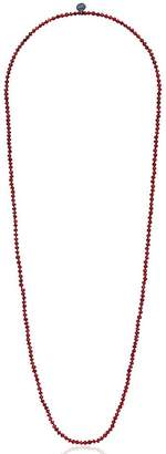 Johnny Was Red Garnet Necklace