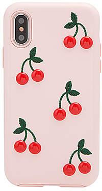 Sonix Patent Cherry iPhone X Case