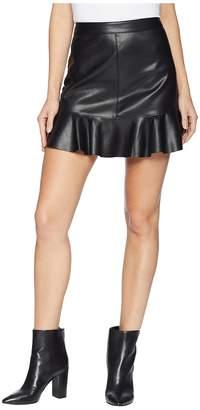 BB Dakota Veni Vidi Vici Vegan Leather Mini Skirt Women's Skirt