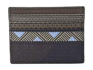 Etro Mixed Pattern Card Holder