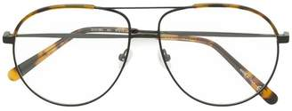 Stella McCartney Eyewear double bridge aviator glasses